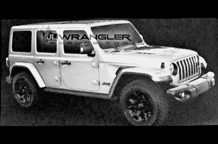 Jeep Wrangler 2018, immagini anticipate dalla rete