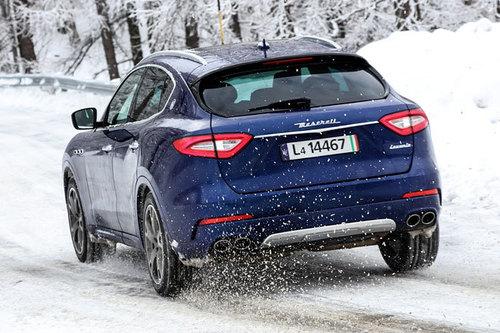 Maserati Levante, primo test